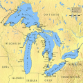 Great Lakes by size